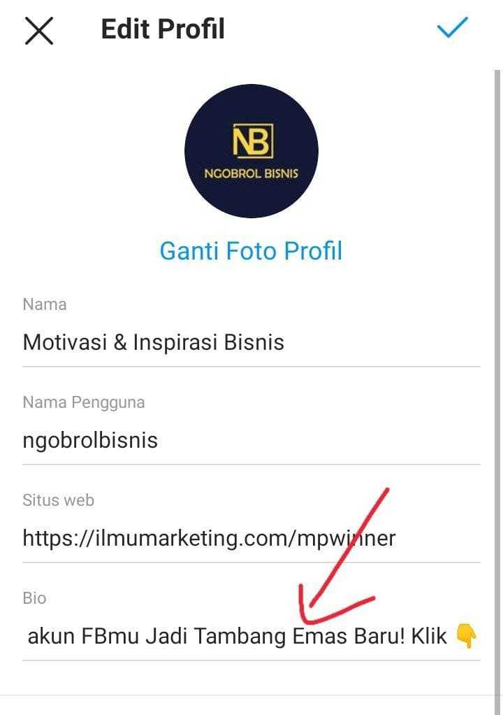 Contoh Bio Instagram Yang Menarik Followers 2