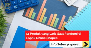 11 Produk yang Laris Saat Pandemi di Lapak Online Shopee